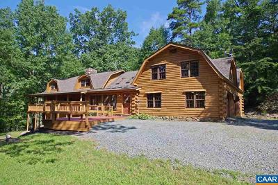 Albemarle County Single Family Home For Sale: 1644 Dudley Mountain Rd