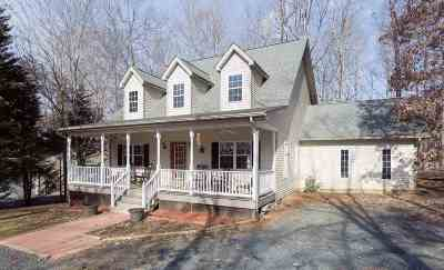 Fluvanna County Single Family Home For Sale: 29 Stonewall Rd