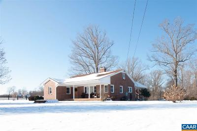 Single Family Home For Sale: 3257 Toms Rd