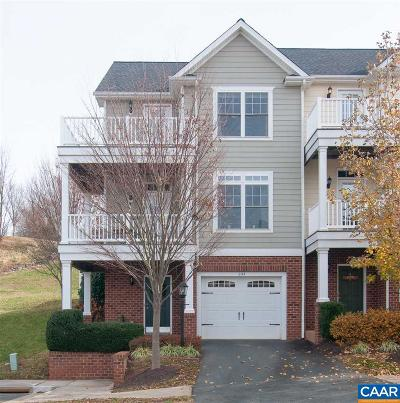 Charlottesville Townhome For Sale: 2144 Saranac Ct
