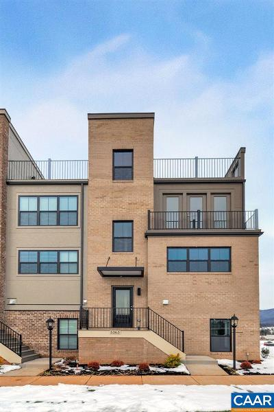 Albemarle County Townhome For Sale: 5363 Ashlar Ave
