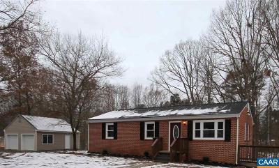 Gordonsville Single Family Home For Sale: 2141 Loving Dr