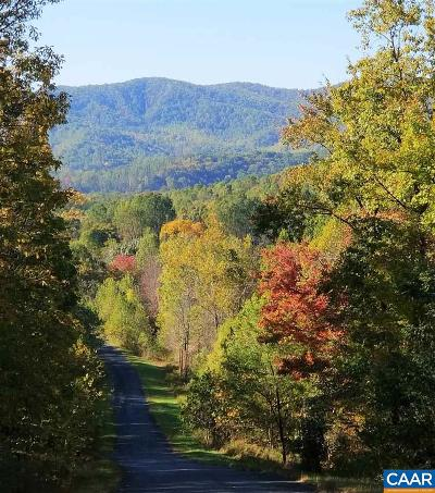 Nelson County Lots & Land For Sale: Lot 5 Rockfish Heights Ln