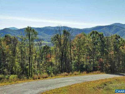 Nelson County Lots & Land For Sale: Lot 13 Rockfish Heights Ln