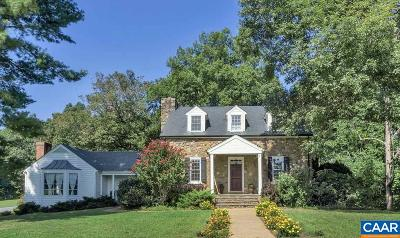 Albemarle County Single Family Home For Sale: 3796 Stony Point Rd #B