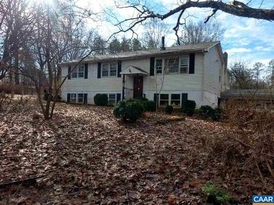 Buckingham County Single Family Home For Sale: 179 Apple Ln