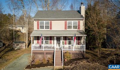 Fluvanna County Single Family Home For Sale: 476 Jefferson Dr