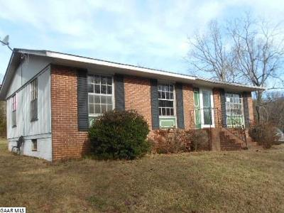 Nelson County Single Family Home For Sale: 665 Glade Rd