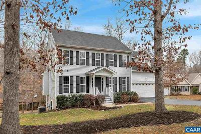 Fluvanna County Single Family Home For Sale: 1 Crib Ct