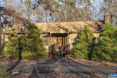 Fluvanna County Single Family Home For Sale: 9 Forest Dr
