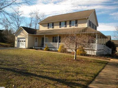 Waynesboro Single Family Home For Sale: 1900 Monroe St