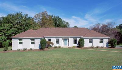 Albemarle County Single Family Home For Sale: 900 Madison Dr