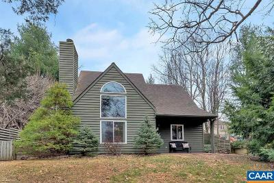 Albemarle County Single Family Home For Sale: 1327 Gristmill Dr