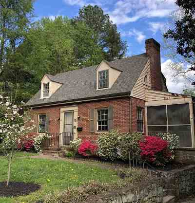 Charlottesville Single Family Home For Sale: 726 Cargil Ln