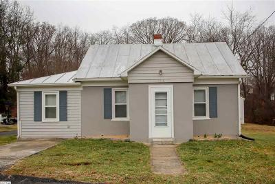 Staunton Single Family Home For Sale: 514 F St