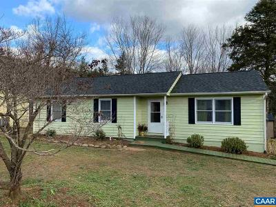 Crozet Single Family Home For Sale: 5978 St George Ave