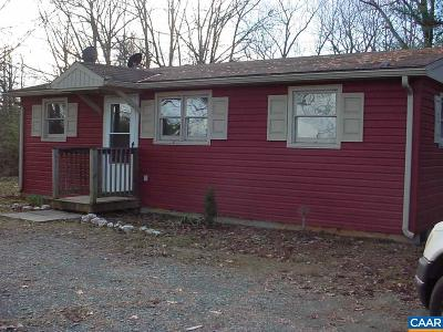 Scottsville VA Single Family Home For Sale: $89,999