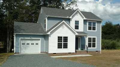 Fluvanna County Single Family Home For Sale: 12 Partridge Berry Ln #Lot 1