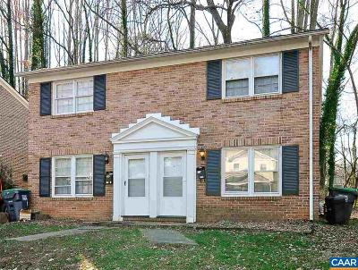 Charlottesville Townhome For Sale: 319 & 401 Valley Road Ext #319 A&B