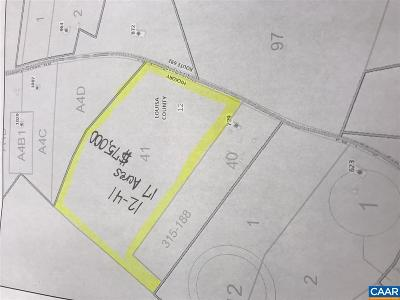 Louisa Lots & Land For Sale: 1a Hickory Creek Rd