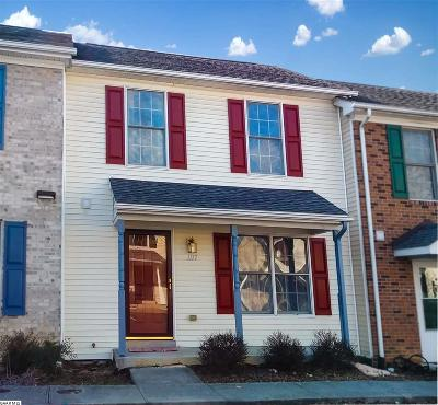 Harrisonburg Townhome For Sale: 1117 Commercial Ct