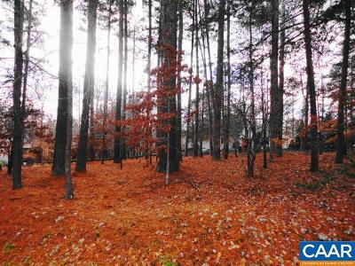 Fluvanna County Lots & Land For Sale: 39 Monish Dr