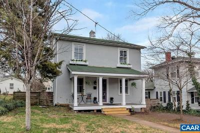 Charlottesville Single Family Home For Sale: 821 Monticello Ave