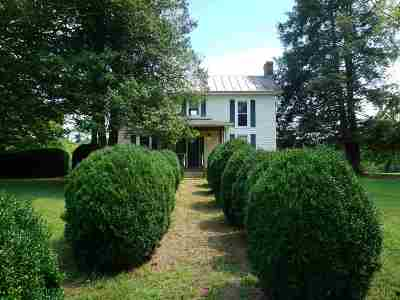 Single Family Home For Sale: 4349 Burnley Station Rd