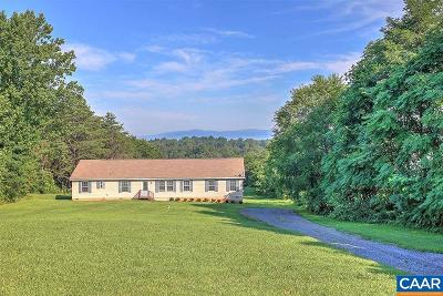 Barboursville Single Family Home For Sale: 4405 Ridge Rd