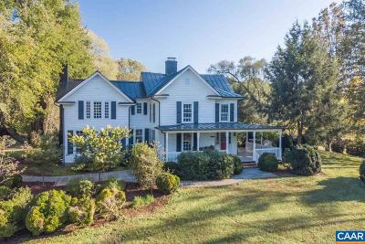 Albemarle County Single Family Home For Sale: 3071 Stony Point Rd