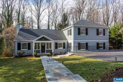 Charlottesville  Single Family Home For Sale: 1868 Field Rd