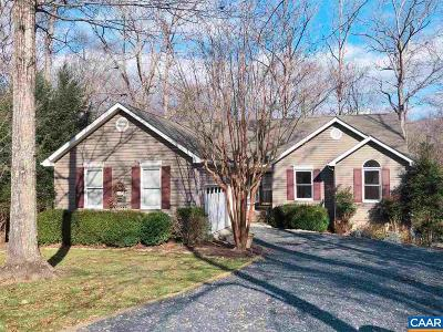 Fluvanna County Single Family Home For Sale: 23 Sand Trap Ter