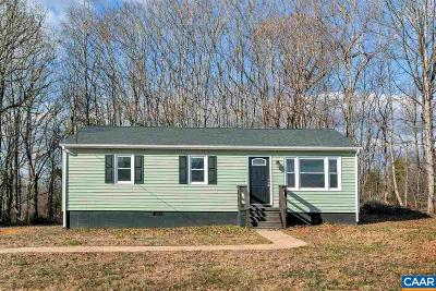 Fluvanna County Single Family Home For Sale: 2865 Mountain Hill Rd