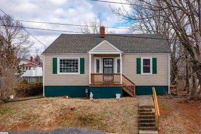 Staunton VA Single Family Home For Sale: $133,900