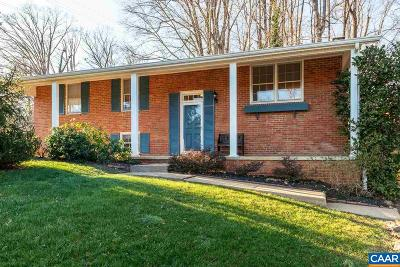 Charlottesville Single Family Home For Sale: 104 Linda Ct