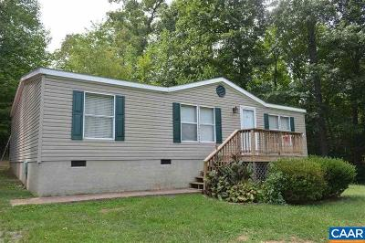 Buckingham County Single Family Home For Sale: 109 Rosney Rd