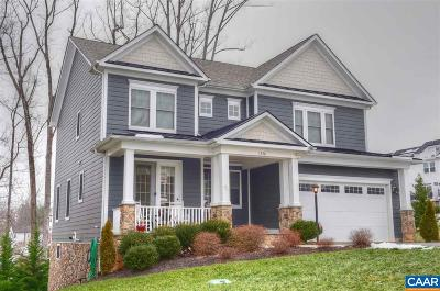 Albemarle County Single Family Home For Sale: 1220 Penfield Ln