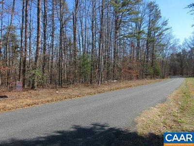 Fluvanna County Lots & Land For Sale: Red Bank Ln