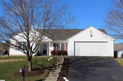 Waynesboro Single Family Home For Sale: 2595 Village Dr