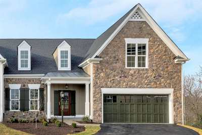 Albemarle County Townhome For Sale: 2220 Golf Dr