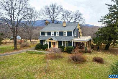 Albemarle County Single Family Home For Sale: 7512 Greenwood Station Rd
