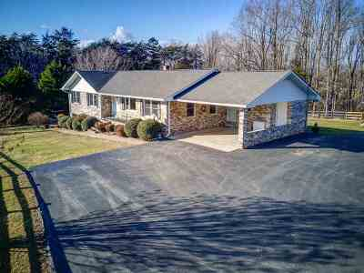 Barboursville Single Family Home For Sale: 194 Dawsonville Rd
