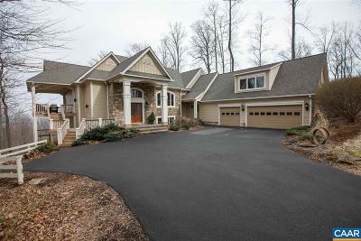 Charlottesville Single Family Home For Sale: 2515 Summit Ridge Trl