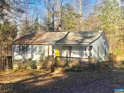 Louisa Single Family Home For Sale: 5250 Broad Street Rd