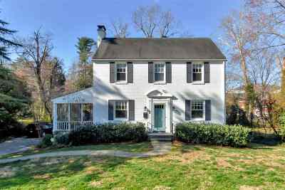 Charlottesville  Single Family Home For Sale: 1870 Wayside Pl