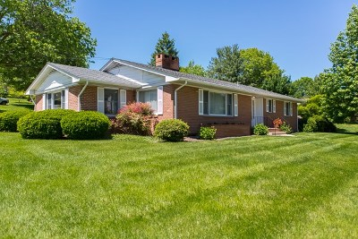 Harrisonburg VA Single Family Home Sold: $265,000