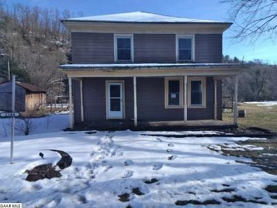 Nelson County Single Family Home For Sale: 2244 Crabtree Falls Hwy