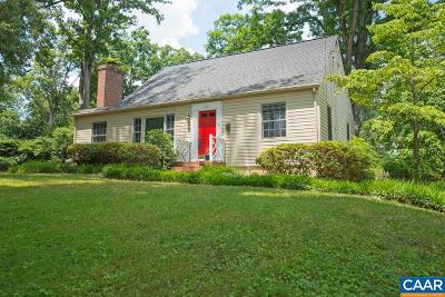 Charlottesville Single Family Home For Sale: 1507 Oxford Rd