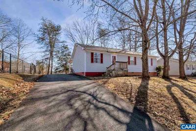 Albemarle County Single Family Home Pending: 519 Jester Ln