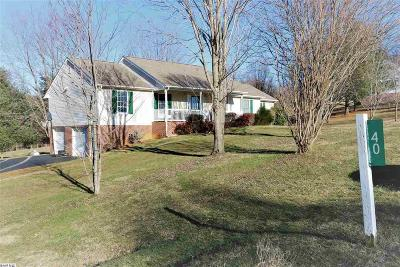 Augusta County Single Family Home For Sale: 40 Taliaferro Dr
